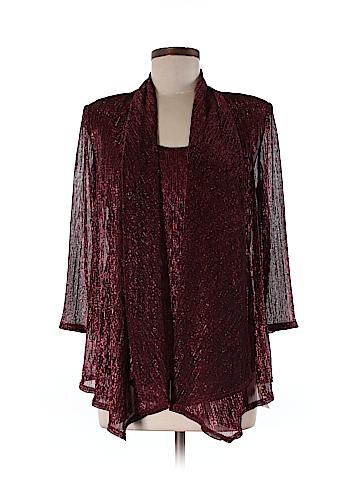 R&M Richards 3/4 Sleeve Blouse Size M