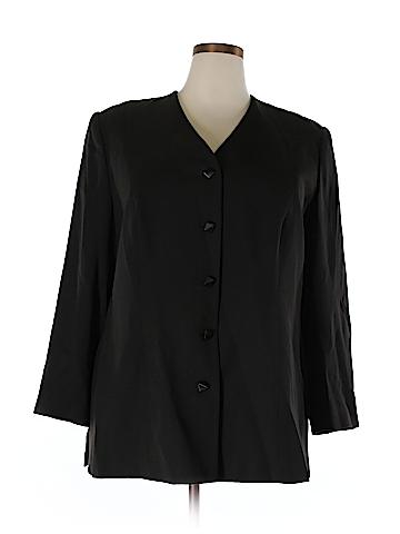 Dana Buchman Wool Blazer Size 20 (Plus)