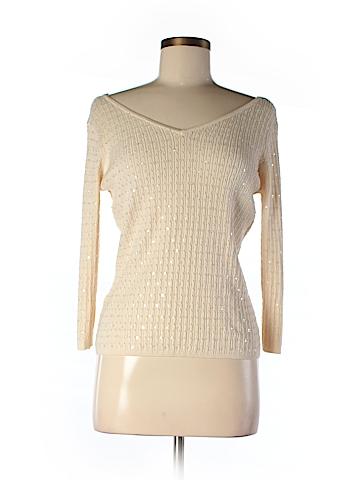Ann Taylor 3/4 Sleeve Silk Top Size M (Petite)
