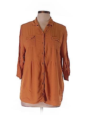 XCVI 3/4 Sleeve Blouse Size L
