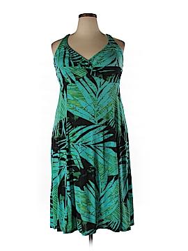 Carol Wior Casual Dress Size 2X (Plus)