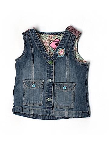 Genuine Kids from Oshkosh Denim Vest Size 2T