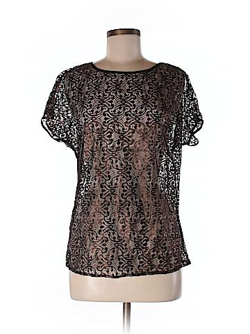 Ann Taylor Women Short Sleeve Blouse Size S