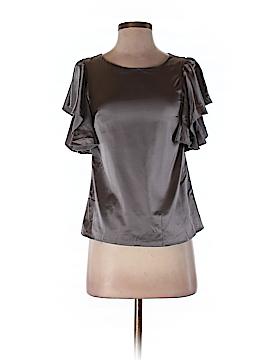 Leona by Lauren Leonard Short Sleeve Blouse Size 2