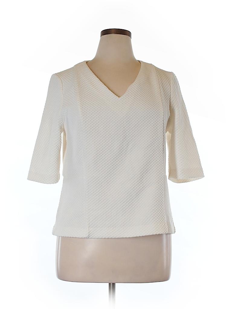 Ann Taylor Women Short Sleeve Blouse Size XL