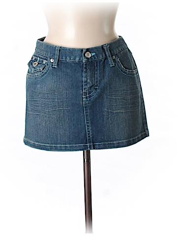 Wet Seal Denim Skirt Size 5/6