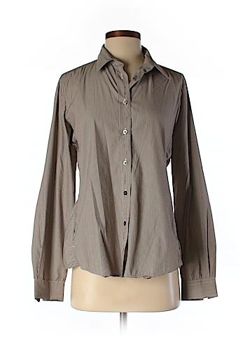 Alara Long Sleeve Button-Down Shirt Size M