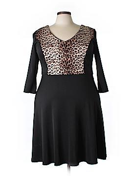 Lucie Lu Silk Dress Size 1X (Plus)