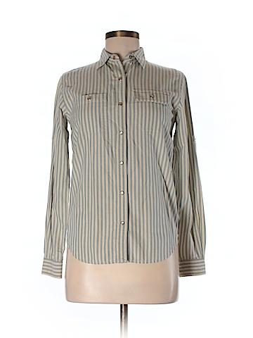 Lauren by Ralph Lauren Long Sleeve Button-Down Shirt Size P