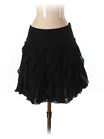 INC International Concepts Women Silk Skirt Size 2
