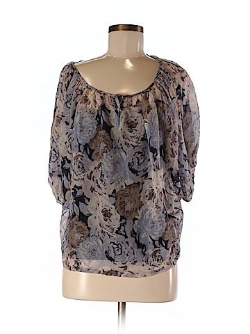 INC International Concepts 3/4 Sleeve Blouse Size 2