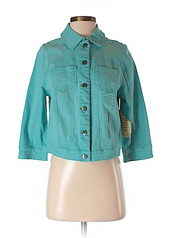 One World Women Denim Jacket Size S
