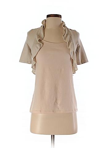 White House Black Market Silk Cardigan Size XXS