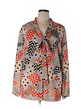 Jete Long Sleeve Blouse Size XL
