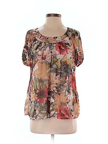 DressBarn Short Sleeve Blouse Size S