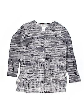 Diane Gilman 3/4 Sleeve Silk Top Size S