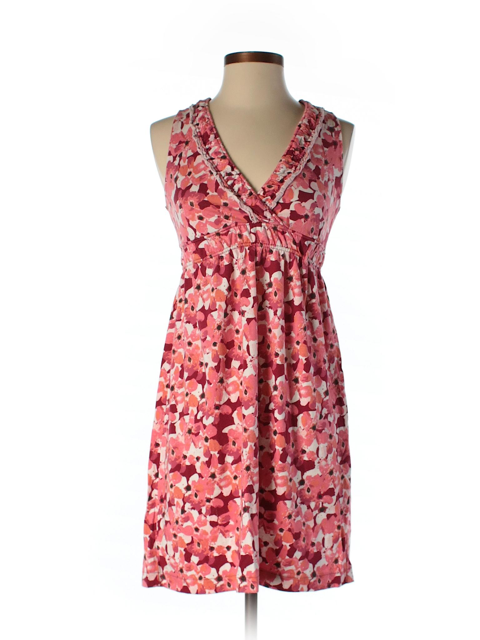 Ann Taylor Loft Outlet Print Pink Casual Dress Size Xs 63 Off Thredup