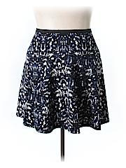 Karen Klein Women Casual Skirt Size 1X (Plus)