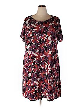 Triste Casual Dress Size 1X (Plus)