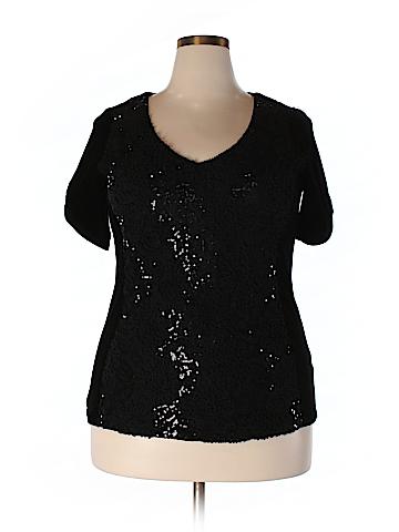 Elvi Short Sleeve Blouse Size 20 (Plus)