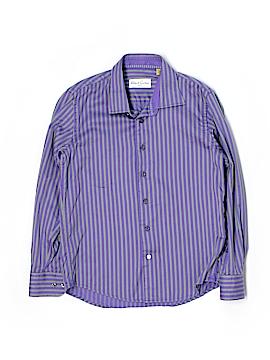 Robert Graham Long Sleeve Button-Down Shirt Size 12