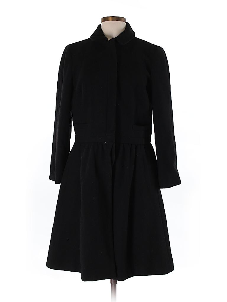 DKNY Women Wool Coat Size S