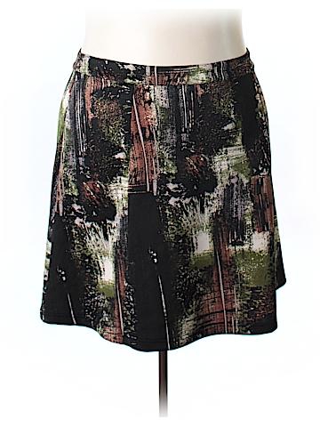 Modamix By Brandon Thomas Casual Skirt Size 22 (Plus)