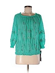 INC International Concepts Women 3/4 Sleeve Blouse Size 2
