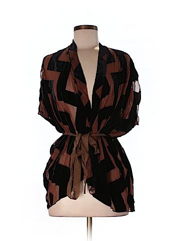 Dolan Short Sleeve Silk Top Size M
