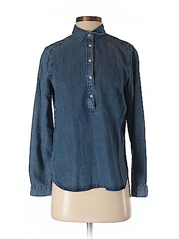 Ann Taylor LOFT Long Sleeve Button-Down Shirt Size S (Petite)