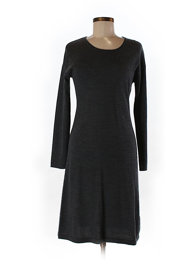 Garnet Hill Women Wool Dress Size S