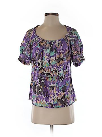 Rachel Comey Short Sleeve Blouse Size S