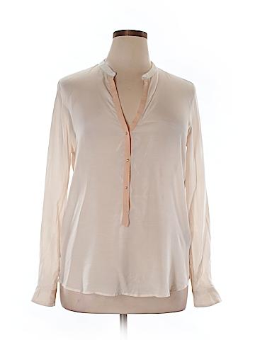 Zara Long Sleeve Blouse Size XL