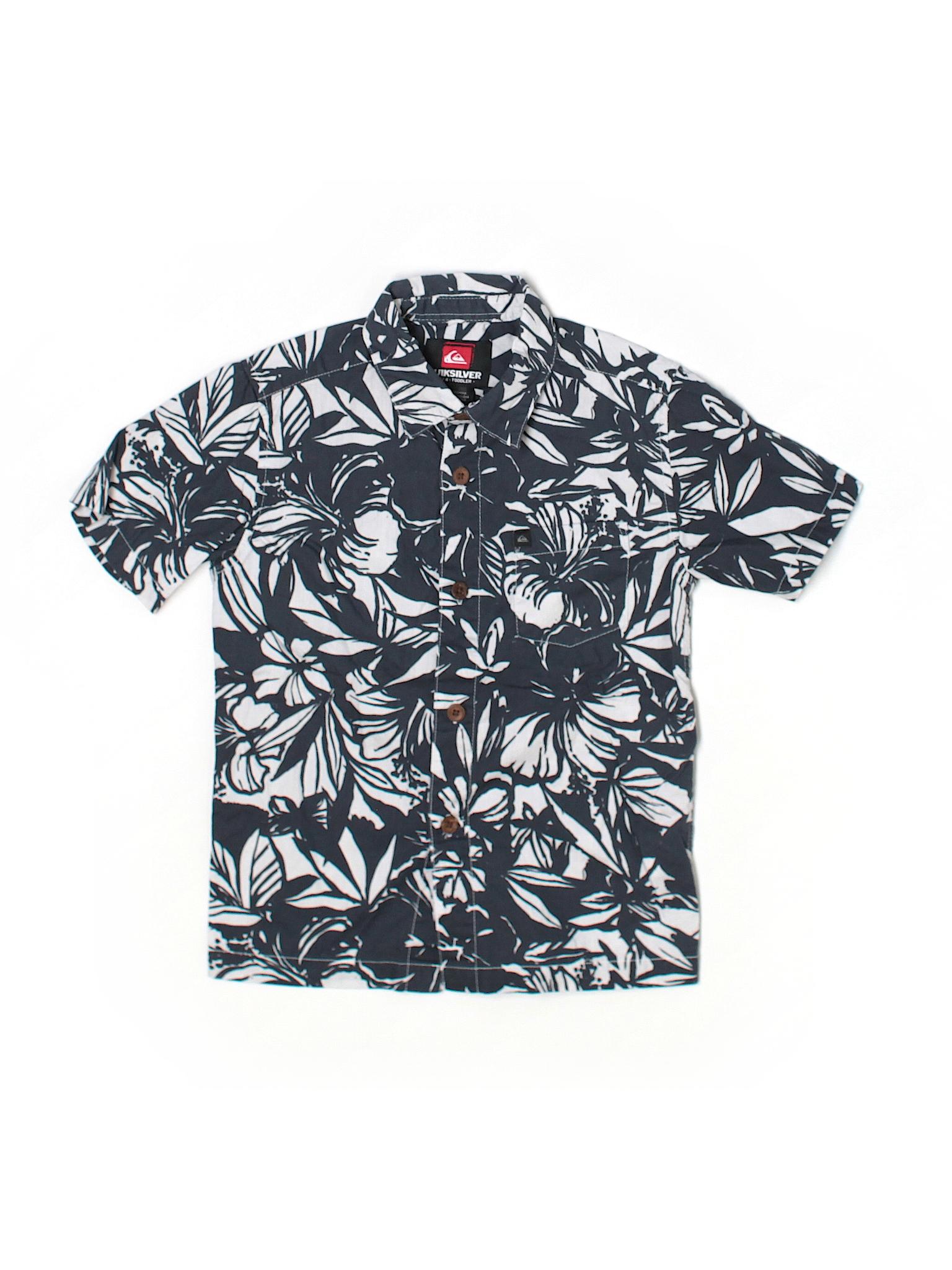 Quiksilver short sleeve button down shirt 65 off only for Bureau quiksilver