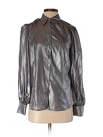 Renuar Long Sleeve Button-Down Shirt Size 4