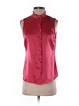 Pendleton Sleeveless Silk Top Size 6 (Petite)
