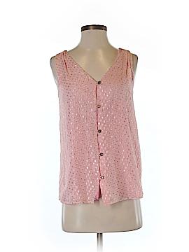 Leona by Lauren Leonard Sleeveless Silk Top Size 0