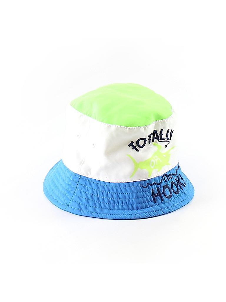 abf1e62f46c Kola Kids 100% Polyester Graphic Color Block Blue Bucket Hat Size 4T ...