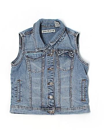 Zana Di Jeans Denim Vest Size L (Youth)