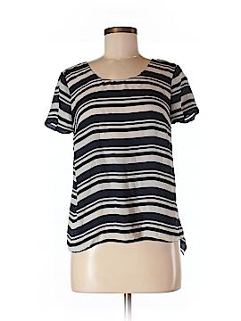 Maeve Women Short Sleeve Blouse Size M