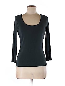 Donna Karan New York 3/4 Sleeve T-Shirt Size L