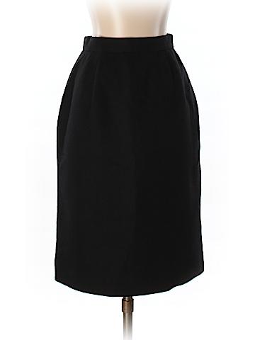 Jones New York Women Wool Skirt Size 2 (Petite)