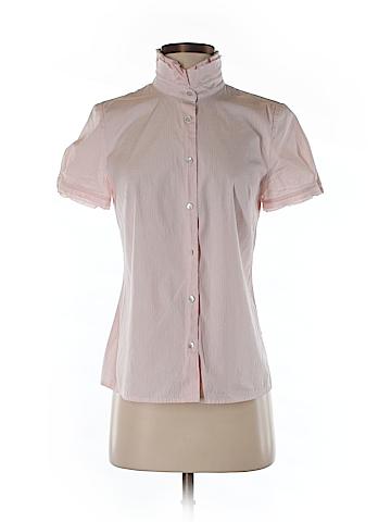 J. Crew Short Sleeve Button-Down Shirt Size 6