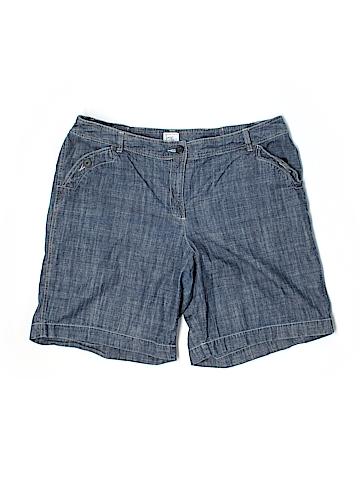 Just My Size Denim Shorts Size 18 (Plus)