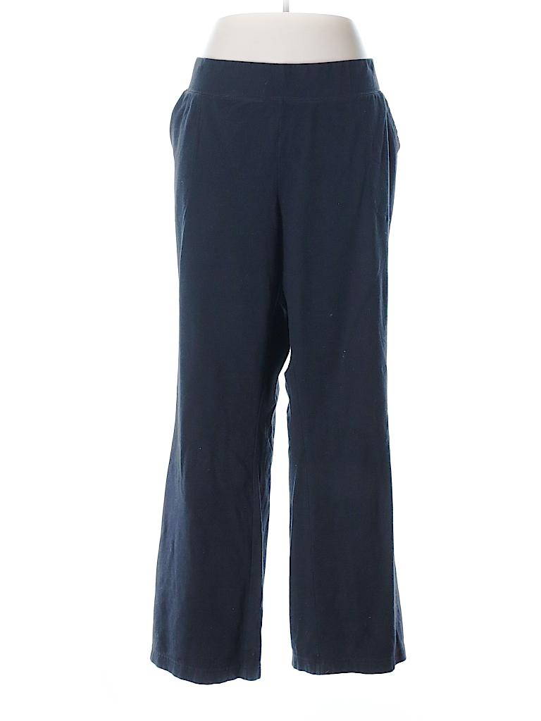 a91173c9af534 SONOMA life + style Solid Black Yoga Pants Size 3X (Plus) - 72% off ...
