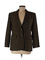 Lauren by Ralph Lauren Women Wool Blazer Size 8 (Petite)