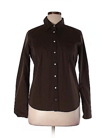 J. Crew Factory Store Long Sleeve Button-Down Shirt Size XL