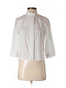BCBGMAXAZRIA 3/4 Sleeve Button-Down Shirt Size XS