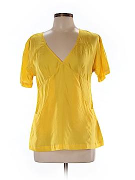 Graham & Spencer Short Sleeve Silk Top Size M