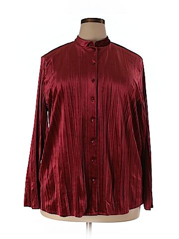 Linden Hill Long Sleeve Blouse Size XXL